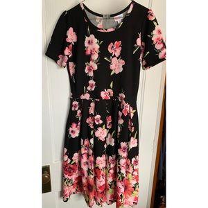 Lularoe UNICORN Amelia Floral dress